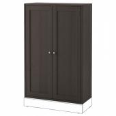 ХАВСТА Шкаф,темно-коричневый